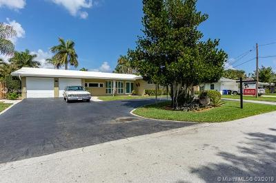 Fort Lauderdale Single Family Home For Sale: 2807 NE 26th St
