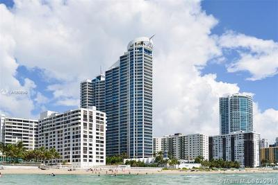 Hollywood Condo For Sale: 3101 S Ocean Dr #506