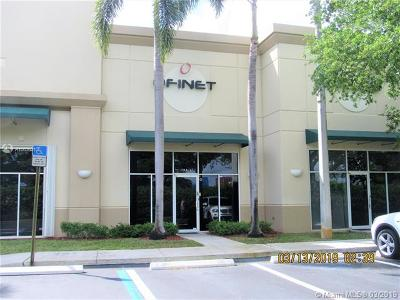 Weston Commercial For Sale: 1960 N Commerce Pkwy #3