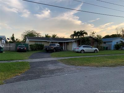 Cutler Bay Single Family Home For Sale: 10370 SW 198th St