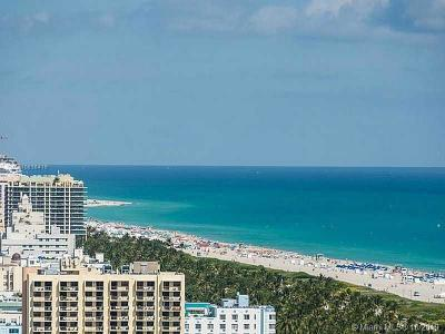 Miami Beach Condo For Sale: 300 S Pointe Dr #2506