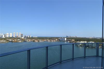 North Miami Beach Rental For Rent: 17111 Biscayne Blvd #1711