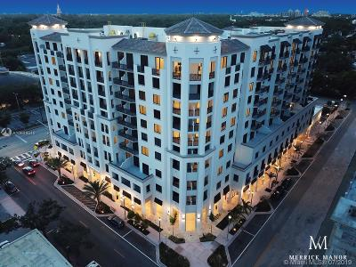 Coral Gables Condo For Sale: 301 Altara #817