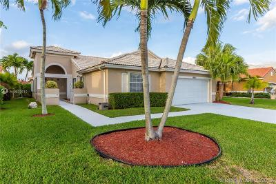 Pembroke Pines Single Family Home Active With Contract: 18861 NW 1st Street