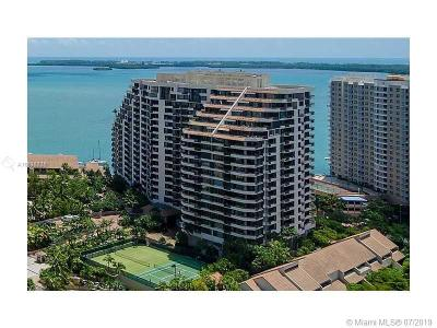 Miami Condo For Sale: 520 Brickell Key #1621