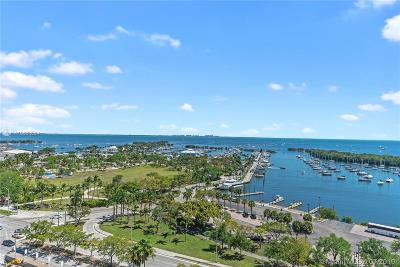 Coconut Grove Condo For Sale: 2843 S Bayshore #16F