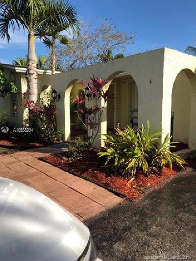 Plantation Single Family Home For Sale: 10336 NW 3rd St