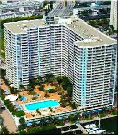 North Bay Village Condo Sold: 7601 E Treasure Dr #2022