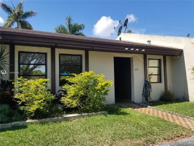Miami Condo For Sale: 5254 SW 139th Pl #0000