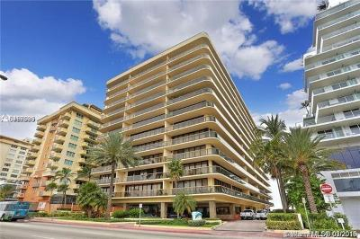 Surfside Condo For Sale: 9455 Collins Avenue #506