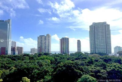 Rental For Rent: 1600 SW 1st Ave #813