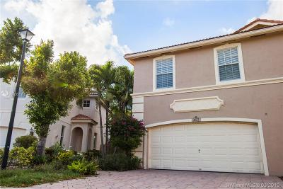 Coconut Creek Single Family Home Active With Contract: 3627 Asperwood Cir