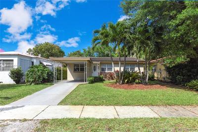 El Portal Single Family Home For Sale: 411 NE 88th St