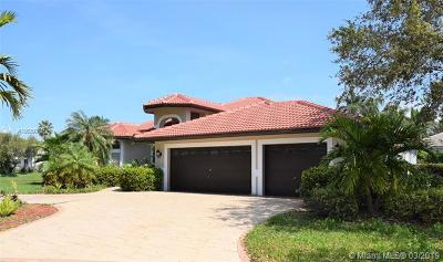 Coral Springs Single Family Home For Sale: 11987 NW 9th St
