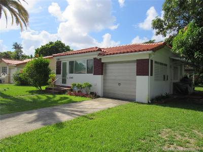 Single Family Home For Sale: 5340 SW 5th St