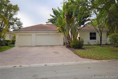 Coconut Creek Single Family Home For Sale: 5252 NW 51st St