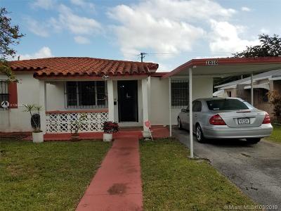 North Miami Single Family Home For Sale: 1010 NE 143rd St