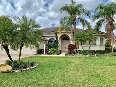 Coral Springs Single Family Home For Sale: 6142 NW 121st Ave