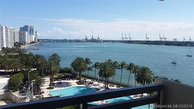 Flamingo, Flamingo South Beach, Flamingo South Beach Co., Flamingo Condo, Flamingo South Beach Cond, Flamingo South Beach I, Flamingo South Beach I Co Rental For Rent: 1500 Bay Rd #828S