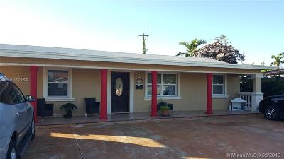 Single Family Home For Sale: 6740 SW 16th Ter