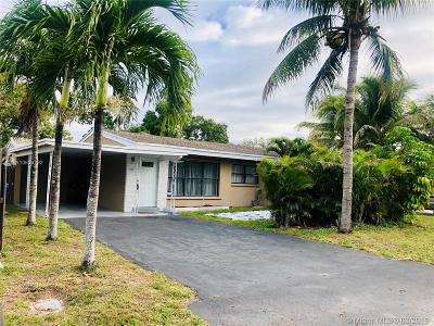 Fort Lauderdale Single Family Home Active With Contract: 1611 SW 30th St