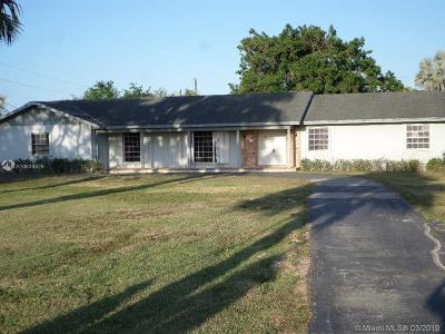 Miami Single Family Home For Sale: 29975 SW 208 Ave