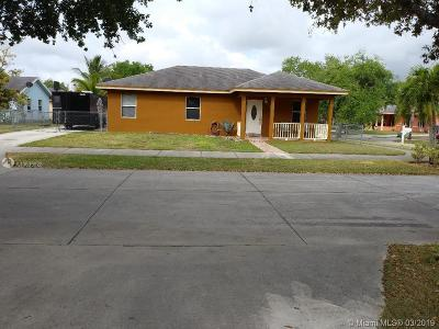 Homestead Single Family Home For Sale: 12912 SW 245 St