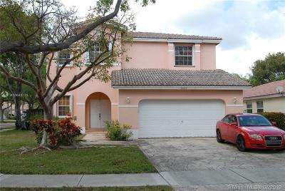 Coconut Creek Single Family Home For Sale: 4439 NW 43rd St