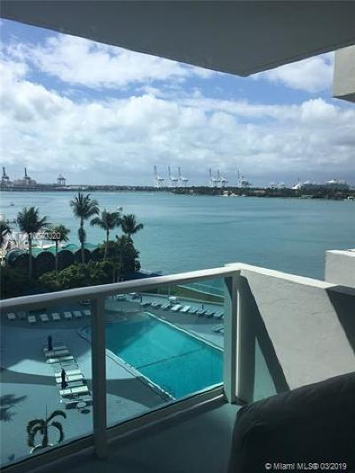 Miami Beach Rental For Rent: 1200 West Ave #630