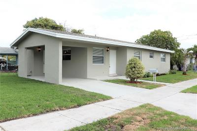 Hollywood Single Family Home For Sale: 2256 Simms St