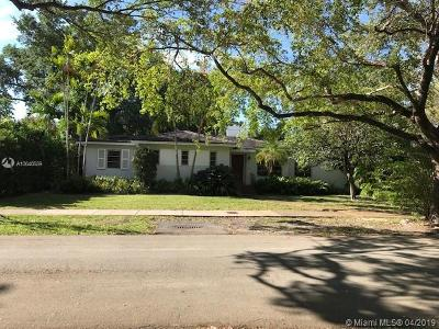Coral Gables Single Family Home For Sale: 916 Milan Ave