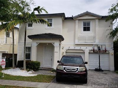 Homestead Single Family Home For Sale: 2923 NE 1st Dr