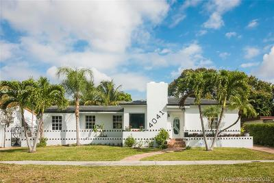 Single Family Home For Sale: 4041 SW 6 St