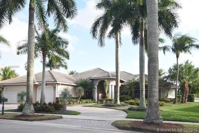Weston Single Family Home For Sale: 2517 Poinciana Dr