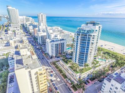 Mosaic, Mosaic On Beach, Mosaic On Miami Beach, Mosaic On Miami Beach Con Rental For Rent: 3801 Collins Ave #1205