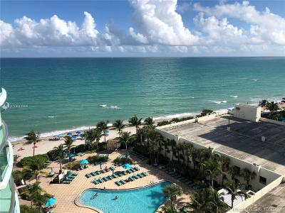 Hollywood Condo For Sale: 3801 S Ocean Dr #10J
