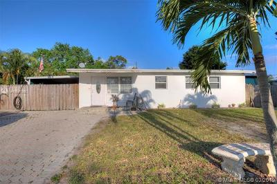 Fort Lauderdale Single Family Home For Sale: 1360 SW 29th Ave