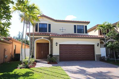 Hialeah Single Family Home For Sale: 3444 W 86th Ter