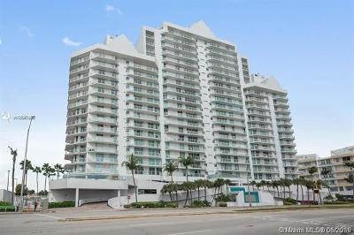 Miami Beach Condo For Sale: 5900 Collins Ave #702
