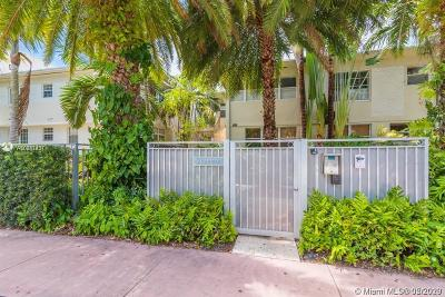 Miami Beach Condo For Sale: 1340 Drexel Ave #307
