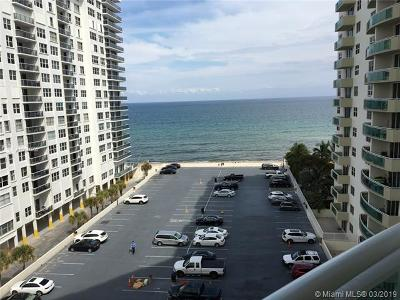 Hollywood Condo For Sale: 3001 S Ocean Dr #845