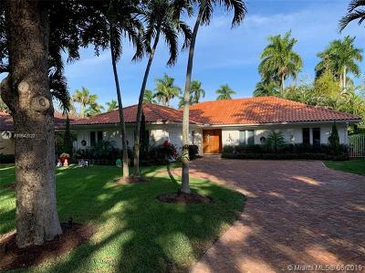 Coral Gables Single Family Home For Sale: 4415 Monserrate St