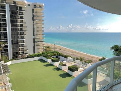 Akoya, Akoya Condo, Akoya Condominiums Rental For Rent: 6365 Collins Ave #909