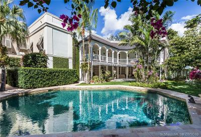 Coral Gables Single Family Home For Sale: 1030 Hardee Rd