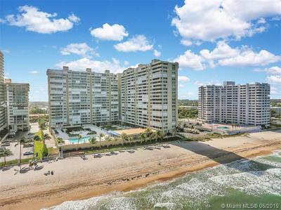 Fort Lauderdale Condo For Sale: 4300 N Ocean Blvd #5D
