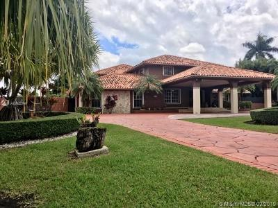 Miami Single Family Home For Sale: 3401 SW 129th Ave