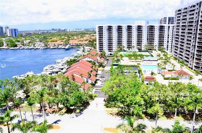Aventura Condo For Sale: 21205 Yacht Club Dr #1507