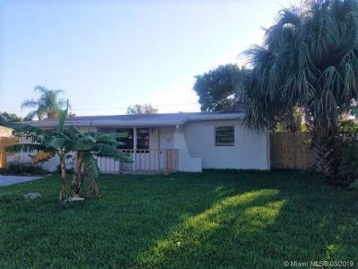 Broward County Single Family Home For Sale: 3020 NE 12th Ave