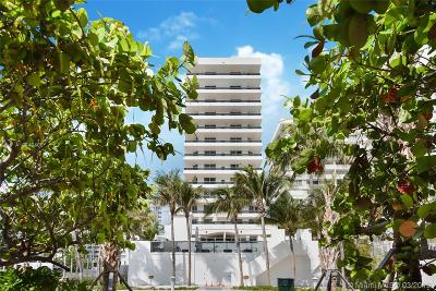 Miami Beach Condo For Sale: 5801 Collins Ave #700