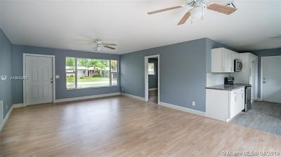 Fort Lauderdale Single Family Home For Sale: 2100 SW 30th Ter